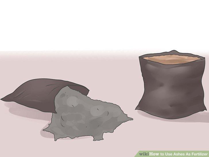 استفاده از خاکستر چوب بعنوان کود مرحله 4