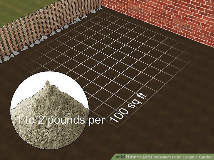 افزودن پتاسیم به خاک مرحله 4