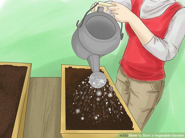 آموزش ايجاد باغ سبزي مرحله 7