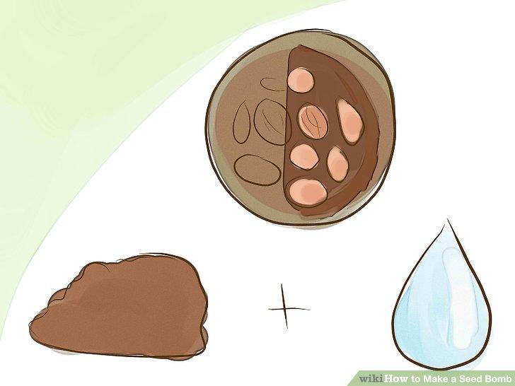 Image titled Make a Seed Bomb Step 3